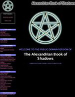The Alexandrian Book of Shadows - E-book