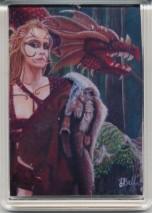 Art Fridge Magnet - Dragon Tamer's Pact - Earth