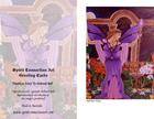 Amethyst Fairy Greeting Card (Blank)