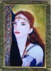 Faerie of the Glen Handmade Card