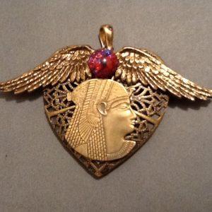 Goddess Hathor Talisman Locket