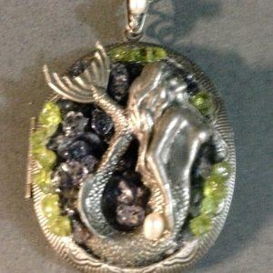 Mermaid's Talisman Locket
