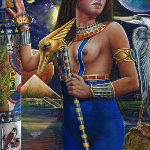 Original Art - Goddess Nuit - Acrylic Painting