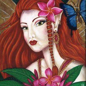 Original Art - Ruby Fae - Acrylic Painting