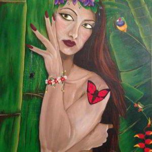 Original Art - Mother Nature - Acrylic Painting