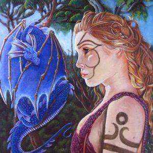 Art Print - The Dragon Tamer's Pact - Air