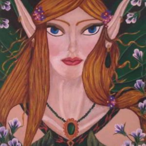 Art Print - Emerald Fae