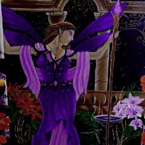 Art Print - Amethyst Fairy