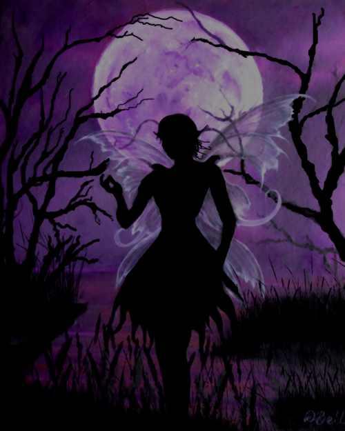 Art Print - Fairy Moon