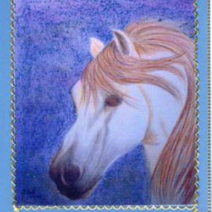 Andalusian Dreams Handmade Card