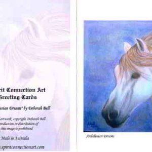 Andalusian Dreams Greeting Card (Blank)