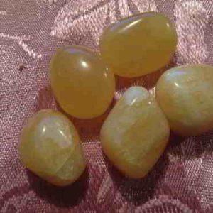 Calcite - Orange Tumbled Stone